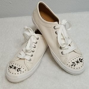 Coach Elle Sneakers Bling Toes Creme